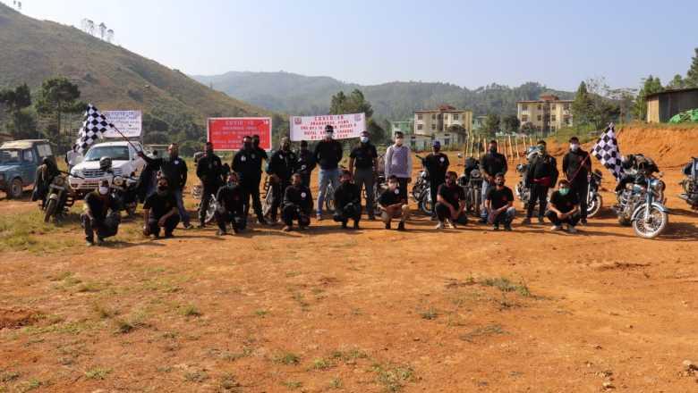 AR bike rally in Chandel