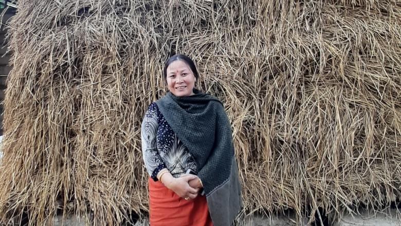 Rajkumari Binita Devi, mushroom farmer
