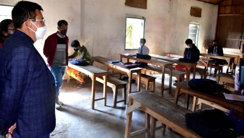 manipur education minister S Rajen Singh