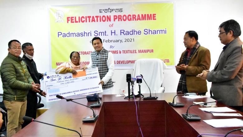 padma shri awardee Hanjabam Radhe Devi