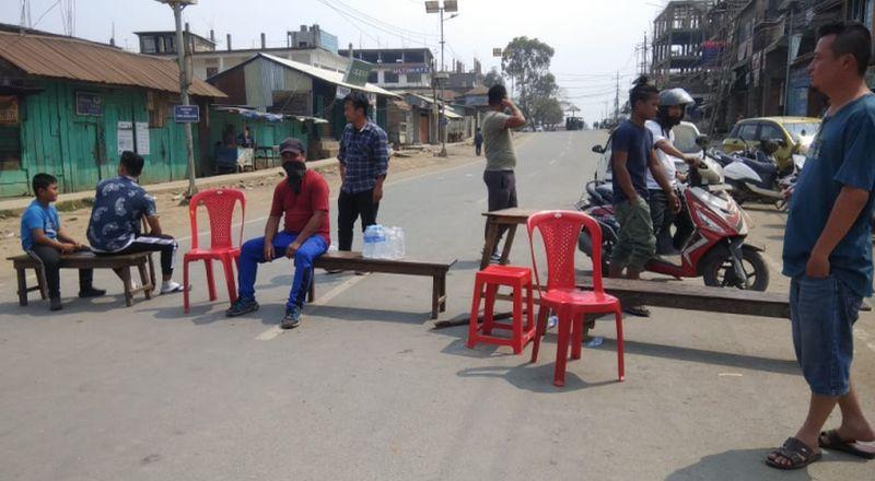 bandh shutdown manipur