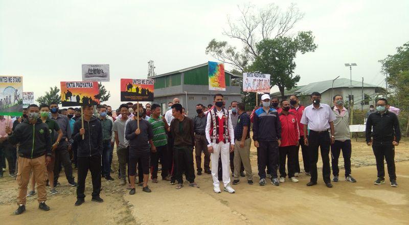 Dandi march in tamenglong