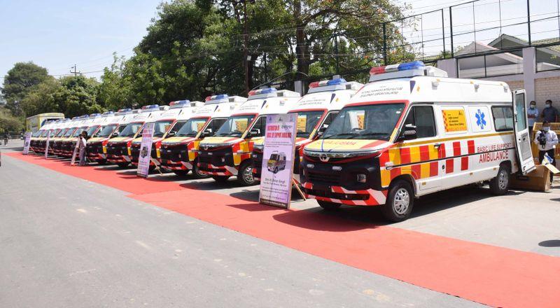 BLS ambulance