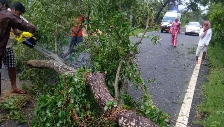 cyclone, Yaas, relief