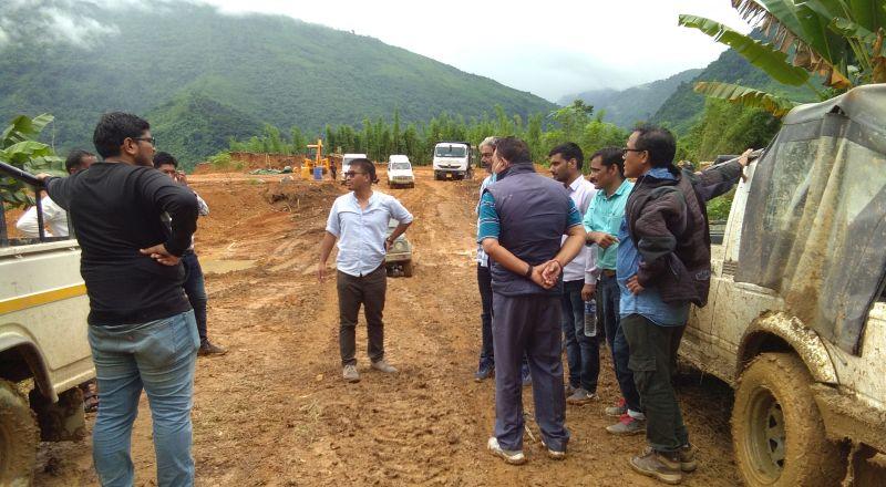 Tamenglong halflong road