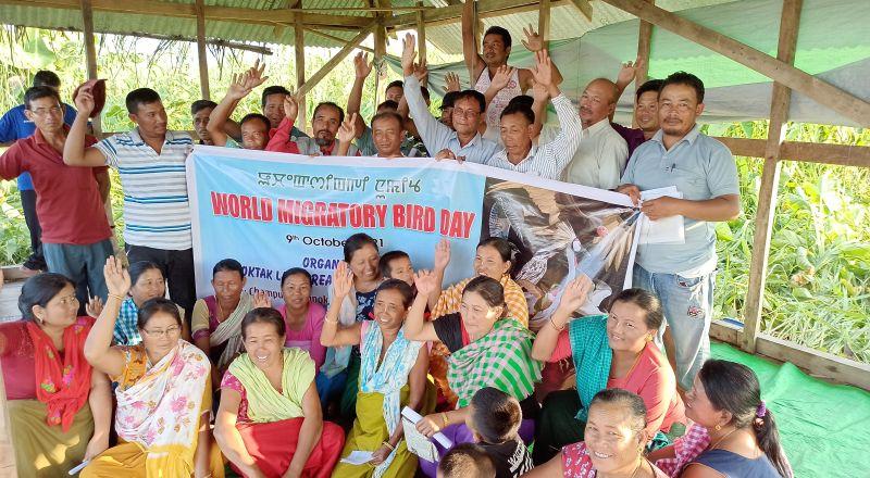 World Migratory Bird Day, loktak lake