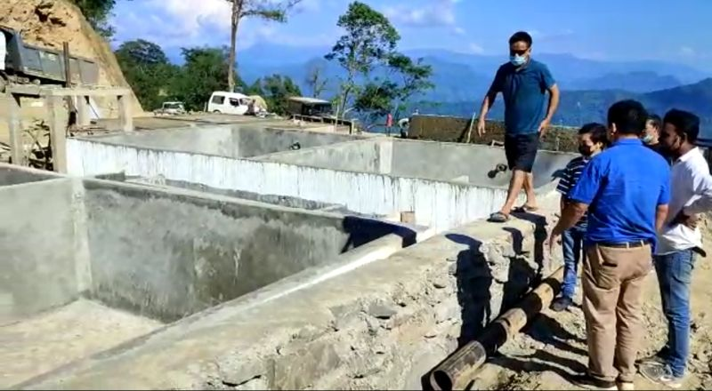 Tamenglong drinking water project